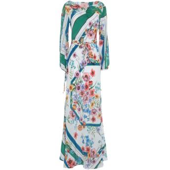 《セール開催中》KITAGI レディース ロングワンピース&ドレス ホワイト 40 シルク 100%