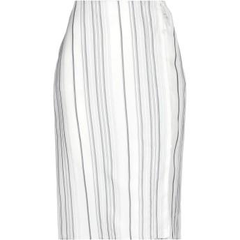 《セール開催中》JIL SANDER レディース 7分丈スカート ライトグレー 36 レーヨン 100%