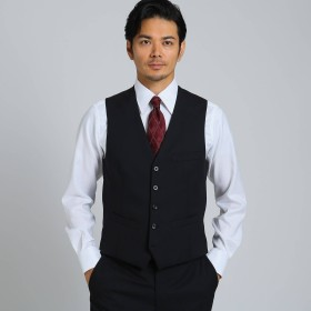 TAKEO KIKUCHI(タケオキクチ:メンズ)/シャドーストライプ ベスト Material using CORDURA