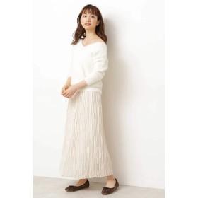 PROPORTION BODY DRESSING(プロポーション ボディ ドレッシング)/◆ロングランダムプリーツスカート