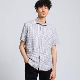 TAKEO KIKUCHI(タケオキクチ:メンズ)/ハケメギンガムチェックシャツ