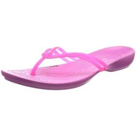 [クロックス] ビーチサンダル イザベラ フリップ ウィメン 204004 Vibrant Pink/Party Pink W6(22 cm)