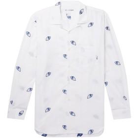 《期間限定セール開催中!》COMME des GARONS SHIRT メンズ シャツ ホワイト L コットン 100%