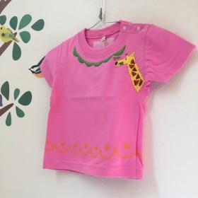 キリン刺繍*baby・kidsTシャツ80