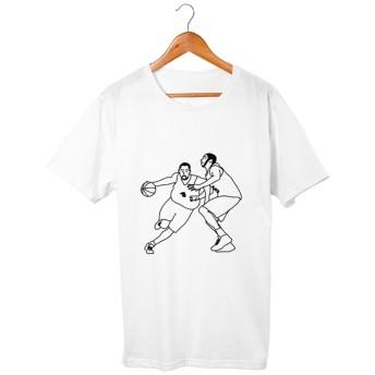 バスケ#6 Tシャツ 5.6oz