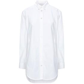 《セール開催中》BURBERRY レディース シャツ ホワイト 8 コットン 100%