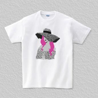 Tシャツ Portrait006 (TRUSS ヘビーウェイトTシャツで)