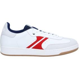 《セール開催中》AM318 メンズ スニーカー&テニスシューズ(ローカット) ホワイト 40 革