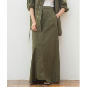 GALLARDAGALANTE(ガリャルダガランテ)/モールスキンマキシスカート