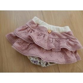 Sale☆かぼちゃパンツ付きふりふりスカート 80cm