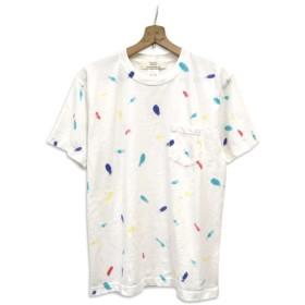 染め 染色 半袖 ポケット Tシャツ : TS-616
