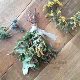dry flower swagドライフラワースワッグ