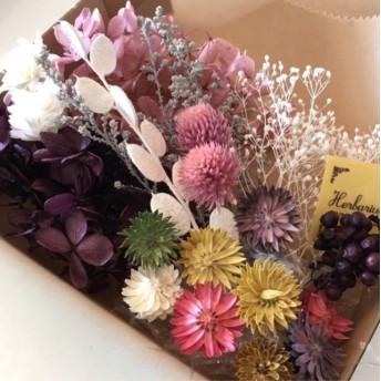 チーゼルフラワー花材セット ドライフラワー