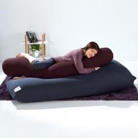 Yogibo Roll Max(ロールマックス) - ディープパープル ヨギボー ロール マックス 抱き枕 マタニティ ビーズクッション【1~3営業日で出荷予定】【受注生産品】【分納の場合あり】