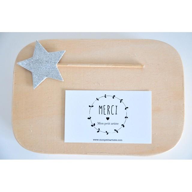 【名入れ】★ メッセージカード ★ Little wreath(100枚)セミオーダー ショップカード
