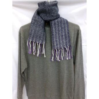 手織り マフラー hug027