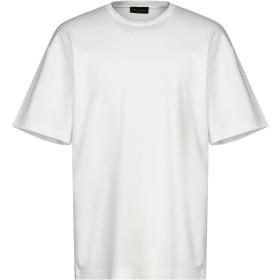 《セール開催中》ROBERTO COLLINA メンズ T シャツ ホワイト 46 コットン 100%