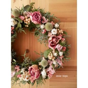 atelier blugra八ヶ岳〜バラと小花のWreath
