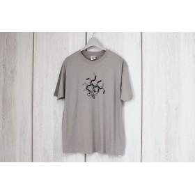 オーガニックコットンTシャツ☆ミツバチ☆ベージュXL