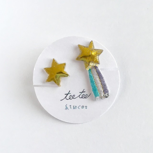 冬空の流れ星/イヤリングorピアス