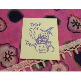 Trick or Treat  猫ハロウィンはんこ