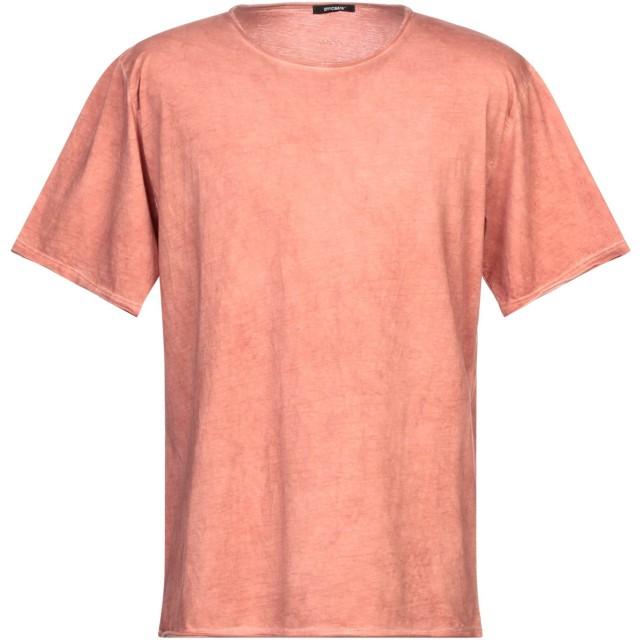 《セール開催中》OFFICINA 36 メンズ T シャツ パステルピンク L コットン 100%