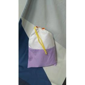 送料無料 入園・入園準備 体操着袋 リバーシブル巾着袋