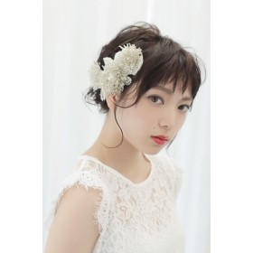 weddingheaddress/hairaccessory/headdress/ウェディング/ヘッドドレス