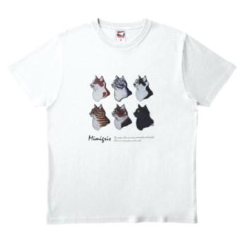 ミミグリ 6cats Tシャツ