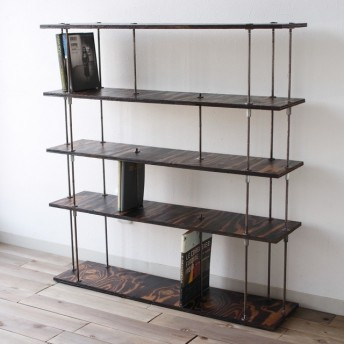 wood iron shelf 895840200