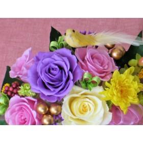 宝船の贈り物(プリザーブドフラワー)新春