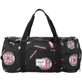 《セール開催中》HERSCHEL SUPPLY CO. Unisex 旅行バッグ ブラック ポリエステル 100% INDEPENDENT SUTTON
