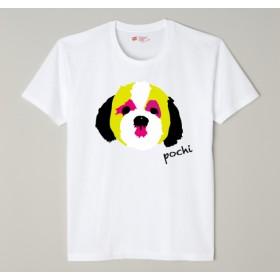 【受注制作】ペット似顔絵Tシャツ