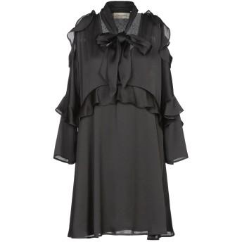 《セール開催中》BY MALENE BIRGER レディース ミニワンピース&ドレス ブラック 36 ポリエステル 100%