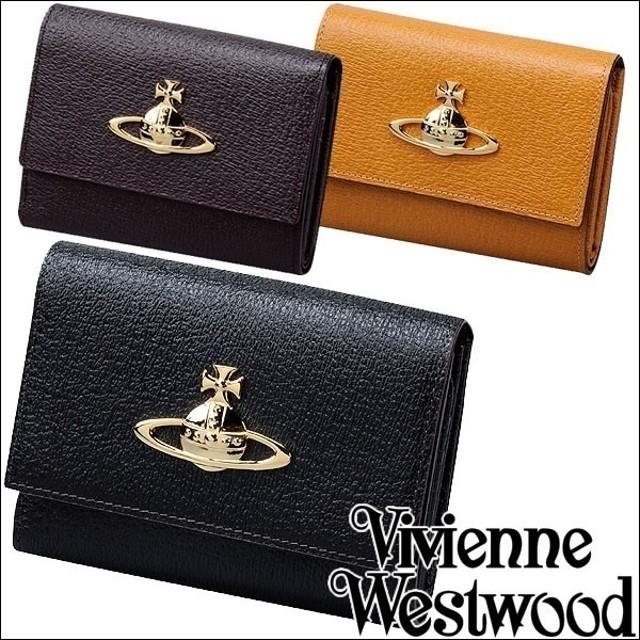 ★名入れ・ラッピング対応★ Vivienne Westwood ヴィヴィアンウエストウッド ヴィヴィアン 二つ折り財布 EXECUTIVE メンズ レディース ブランド 財布 プレゼント ギフト