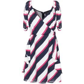 《セール開催中》ATOS LOMBARDINI レディース ミニワンピース&ドレス ダークブルー 40 レーヨン 100% / ポリエステル