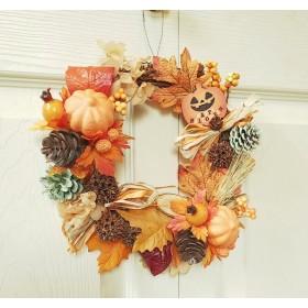 「ハロウィンリース」~秋の収穫 vr.~