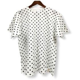 ドット柄 プリント Tシャツ: TS-315