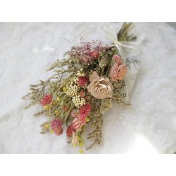 【スワッグ】Antique flower swag ~アンティークローズ系~