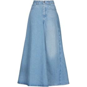 《期間限定セール開催中!》Y/PROJECT レディース デニムスカート ブルー M コットン 100%