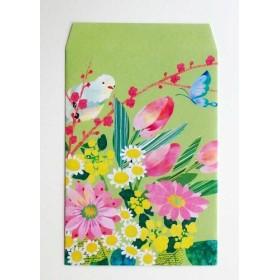 COMO 紙袋 L《春の花束》