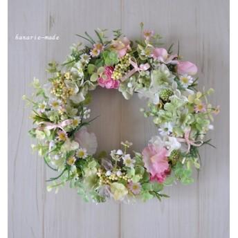 fairy ring:tiny flowers wreath