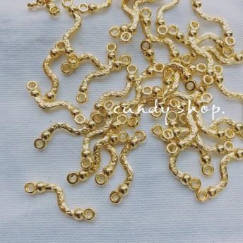 30pcs gorgeous connector antique gold