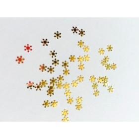 雪の結晶ネイル用・レジン封じ用メタルパーツ50枚