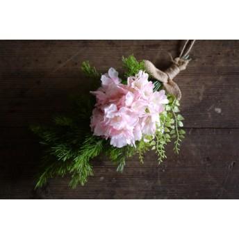 春よ来い 八重桜のスワッグ