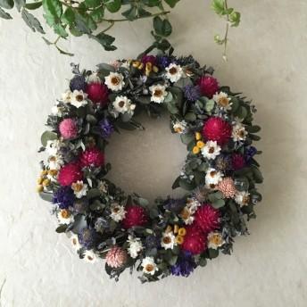 natural wreath ユーカリ B 01