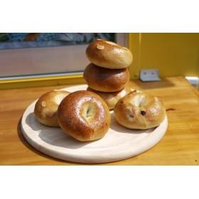 りんご酵母使用 天然フルーツ酵母のベーグルおまかせ10個セット(冷凍便)