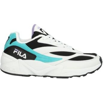 《セール開催中》FILA メンズ スニーカー&テニスシューズ(ローカット) ブラック 7.5 紡績繊維 / 革