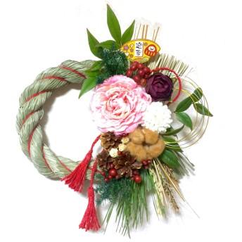 【L】しめ縄、お正月のしめ縄、新年飾り