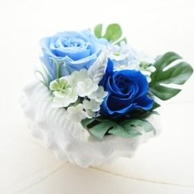 シェルと青いバラ